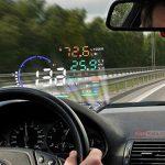دستگاه هدآپ دیسپلی خودرو/نمایشگر اطلاعات خودرو روی شیشه