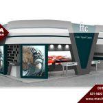 ساخت غرفه نمایشگاه با متریال داخلی و خارجی مرغوب