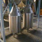 ساخت انواع مخازن وماشين آلات صنايع غذايي، دارويي،شیمیایی